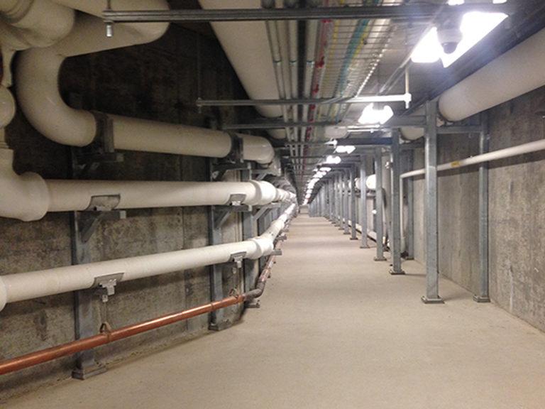 Mercy Hospital Joplin Underground Utility Tunnel - Heideman Asociates, Inc.